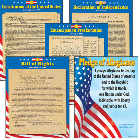 U.S. Documents Learning Charts Combo Pack