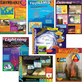 Weather Extremes Learning Charts Combo Pack