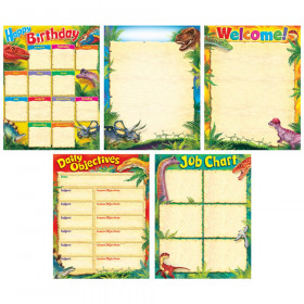 Discovering Dinosaurs™ Learning Charts Combo Pack