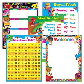 Classroom Basics BlockStars!® Learning Charts Combo Pack