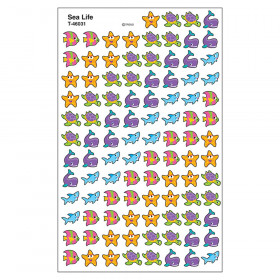 Sea Life superShapes Stickers, 800 ct