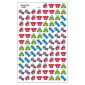 Frog Fun superShapes Stickers, 800 ct