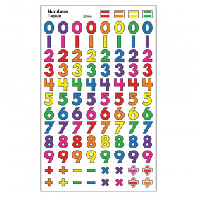 Numbers superShapes Stickers, 800 ct