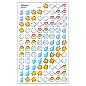 Weather superShapes Stickers, 800 ct