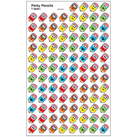 Perky Pencils superShapes Stickers