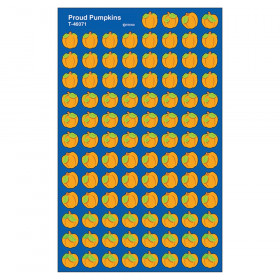Proud Pumpkins superShapes Stickers, 800 ct