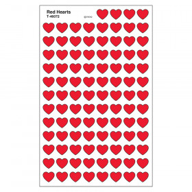 Red Hearts superShapes Stickers