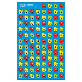 Happy Apples superShapes Stickers, 800 ct