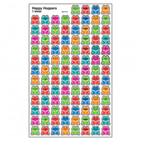 Happy Hoppers superShapes Stickers, 800 ct