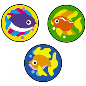 Fabulous Fish superSpots® Stickers