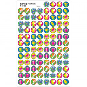 Spring Flowers superSpots® Stickers