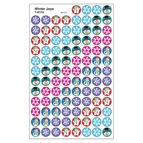 Winter Joys superSpots Stickers, 800 ct