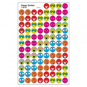 Happy Smiles superSpots® Stickers
