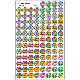 Cheer Words superSpots® Stickers