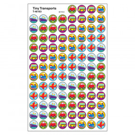 Tiny Transports superSpots Stickers, 800 ct