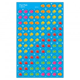 Fun Fish superSpots Stickers, 800 ct