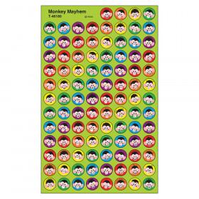 Monkey Mayhem superSpots® Stickers