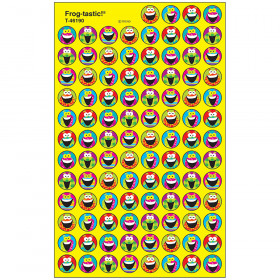 Frog-tastic!® superSpots® Stickers