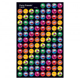 Furry Friends superSpots Stickers, 800 ct