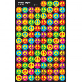 Peace Signs superSpots® Stickers