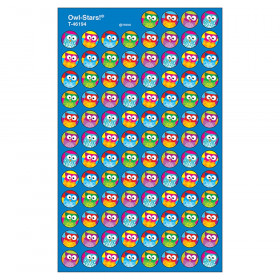 Owl-Stars! superSpots Stickers, 800 ct