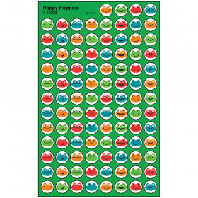 Happy Hoppers superSpots® Stickers