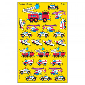 Rescue Vehicles superShapes Stickers – Large