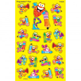 Frog-tastic!® Fun superShapes Stickers – Large
