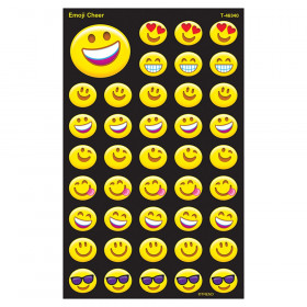 Emoji Cheer superShapes Stickers – Large