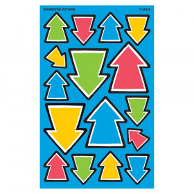 Awesome Arrows Supershape Stickers 128 Count