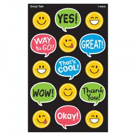 Emoji Talk Supershapes Stickers 120 Count