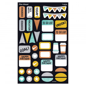 Plan Ahead Supershapes Stickers Lg I Heart Metal