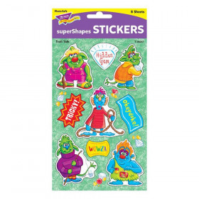 Troll Talk Large superShapes Stickers, 72 ct.
