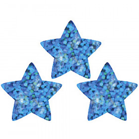 Supershapes Blue Sparkle 400/Pk Stars