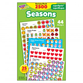 Seasons superSpots/superShapes VarPk, 2500 ct
