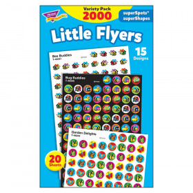 Little Flyers superSpots/superShapes VarPk, 2000 ct