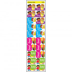 Cartoon Kids Applause STICKERS