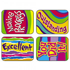 Applause Stickers Outstanding 100Pk Words Acid-Free