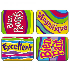 French Outstanding Applause Stickers