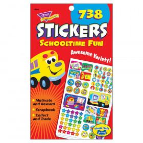 Schooltime Fun Sticker Pad, 738 ct
