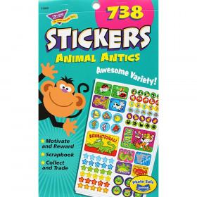 Animal Antics Sticker Pad