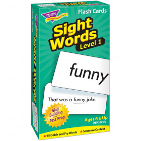Sight Words - Level 1 Skill Drill Flash Cards
