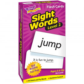 Sight Words - Level 2 Skill Drill Flash Cards
