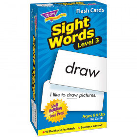 Sight Words - Level 3 Skill Drill Flash Cards