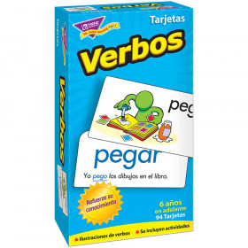 Verbos (Spanish Action Words) Skill Drill Flash Cards