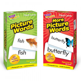 Picture Words Skill Drill Flash Cards Assortment