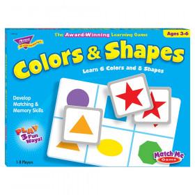 Colors & Shapes Match Me Games