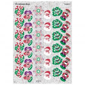 Christmas Joys Sparkle Stickers, 72 ct