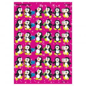 Proud Penguins Sparkle Stickers, 72 ct