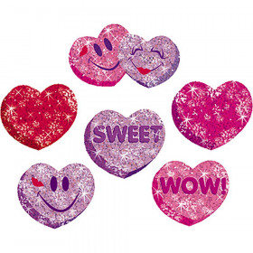 Heart Hoorays Sparkle Stickers